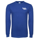 Royal Long Sleeve T Shirt-Interlocking UB
