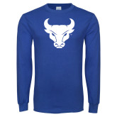 Royal Long Sleeve T Shirt-Bull Spirit Mark