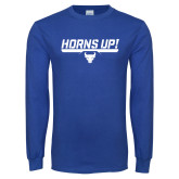 Royal Long Sleeve T Shirt-Horns Up