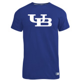 Russell Royal Essential T Shirt-Interlocking UB