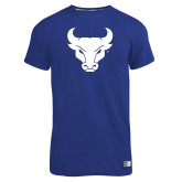 Russell Royal Essential T Shirt-Bull Spirit Mark