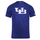 Russell Core Performance Royal Tee-Interlocking UB
