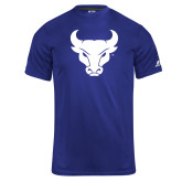 Russell Core Performance Royal Tee-Bull Spirit Mark