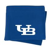 Royal Sweatshirt Blanket-Interlocking UB