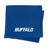 Royal Sweatshirt Blanket-Buffalo Word Mark