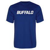 Performance Royal Tee-Buffalo Word Mark