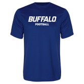 Performance Royal Tee-Football
