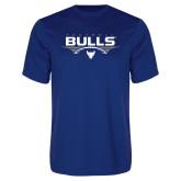 Syntrel Performance Royal Tee-Bulls Football Horizontal w/ Ball