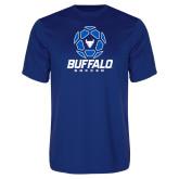 Syntrel Performance Royal Tee-Buffalo Soccer Geometric Ball