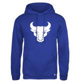 Russell DriPower Royal Fleece Hoodie-Bull Spirit Mark