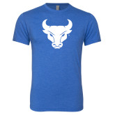 Next Level Vintage Royal Tri Blend Crew-Bull Spirit Mark