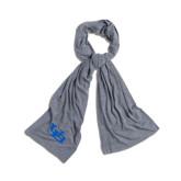Grey Eco Jersey Bundle Up Scarf-Interlocking UB