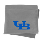 Grey Sweatshirt Blanket-Interlocking UB