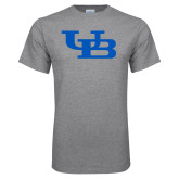 Grey T Shirt-Interlocking UB