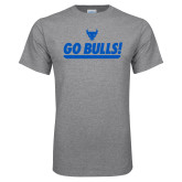 Grey T Shirt-Go Bulls