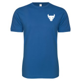 Next Level SoftStyle Royal T Shirt-Bull Spirit Mark
