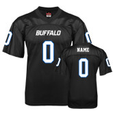 UB  Replica Black Adult Football Jersey-Personalized