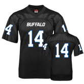 UB  Replica Black Adult Football Jersey-#14