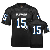 UB  Replica Black Adult Football Jersey-#15