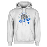 White Fleece Hoodie-2019 Mens Basketball Champions