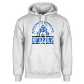 White Fleece Hoodie-Bahamas Bowl Champions - Players