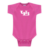 Fuchsia Infant Onesie-Interlocking UB