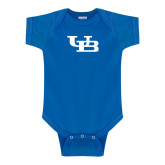 Royal Infant Onesie-Interlocking UB