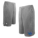 Russell Performance Grey 10 Inch Short w/Pockets-Interlocking UB