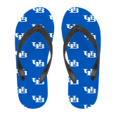 Full Color Flip Flops-Interlocking UB