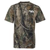 Realtree Camo T Shirt-Interlocking UB