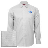 Red House White Diamond Dobby Long Sleeve Shirt-Interlocking UB