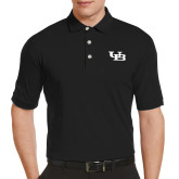 Callaway Tonal Black Polo-Interlocking UB
