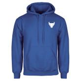 Royal Fleece Hoodie-Bull Spirit Mark