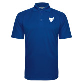 Royal Textured Saddle Shoulder Polo-Bull Spirit Mark