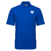 Royal Mini Stripe Polo-Bull Spirit Mark
