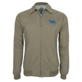 Khaki Players Jacket-Interlocking UB