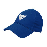 Royal Twill Unstructured Low Profile Hat-Bull Spirit Mark