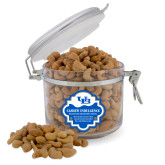 Cashew Indulgence Round Canister-Interlocking UB
