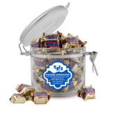 Snickers Satisfaction Round Canister-Interlocking UB