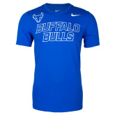 Royal Blue NIKE Core Cotton Short Sleeve Tee-