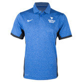 Royal Heather NIKE Victory Block Polo-