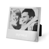 Silver 5 x 7 Photo Frame-Buffalo Word Mark Engraved