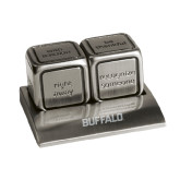 Icon Action Dice-Buffalo Word Mark Engraved