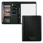 Pedova Black Writing Pad-Interlocking UB Engraved
