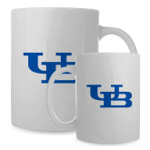 Full Color White Mug 15oz-Interlocking UB