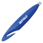 Royal Letter Opener and Staple Remover-Buffalo Word Mark