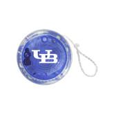 Light Up Blue Yo Yo-Interlocking UB