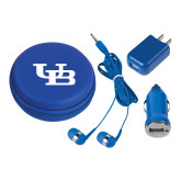 3 in 1 Royal Audio Travel Kit-Interlocking UB