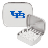 White Rectangular Peppermint Tin-Interlocking UB