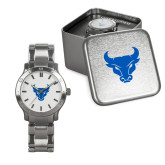 Mens Stainless Steel Fashion Watch-Bull Spirit Mark
